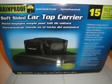 Car Top Carrier Soft Sided By Highland New 15 Cubic Foot Capacity