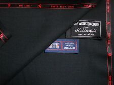 100%SUPER 150's WOOL< THE LION >SUITING FABRIC MADE IN HUDDERSFIELD ENGLAND 3.4m