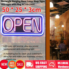 Neon Open Sign Shop Store Bar Beer Business Light Color Signs Us 50 * 25 * 3cm