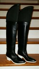 "ALEXANDER WANG ""Lovanni"" Tall Over The Knee Boots Black Sz 37 US 7"