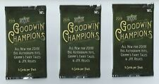 2019 UPPER DECK GOODWIN CHAMPIONS 3 Pack Hobby 5 Cards per Pack