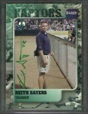 2000 Ogden Raptors Keith Sayers Trainer Baseball Card Signed Autograph