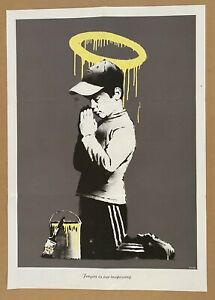 Banksy - Forgive us our Trespassing / Exit Through The Gift Shop - Don't Panic