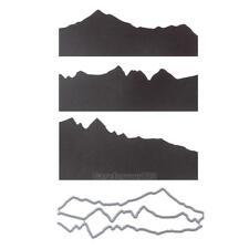 Hillsides Cutting Dies Stencil DIY Scrapbooking Embossing Paper Card Crafts