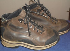 Timberland WaterProof Ankle Hiking Boots Brown Leather Youth Size 1.5