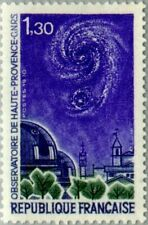 FRANCE - 1970 - Haute Provence Space Observatory - MNH Stamp - Sc.#1281