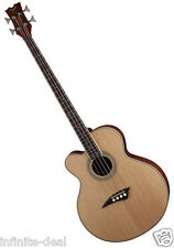 New Dean EABC L Left Hand 4-String Acoustic/Electric Cutaway Bass