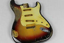 MJT Official Custom Order Aged Nitro Guitar Body by Mark Jenny Reverse Trem