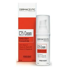 Dermaceutic C25 Cream Antioxidant Concentrate 30ml 1oz New in box #grupk