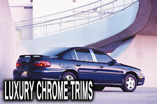 Chevy Malibu Stainless Steel Chrome Pillar Posts by Luxury Trims 1997-2003 (4pc)