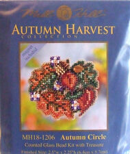 "Mill Hill CROSS STITCH cordone KIT ""Autunno CERCHIO"" 18-1206"