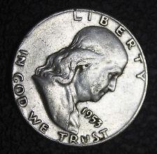 1953-p Franklin Half Dollar.    (INV.A)