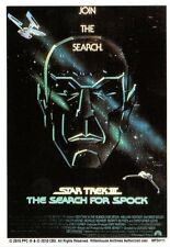 Star Trek Quotable Movies Chase/Insert Card Movie Poster Search Spock MP3