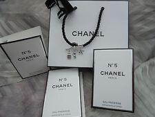Chanel No 5 Eau Première EdP 3 x 2 ml + Tragetasche + Schleife etc.