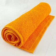 A Premium Quality Gym/Sweat 100% Cotton 500gsm Towel, 30x110cm, Orange Colour