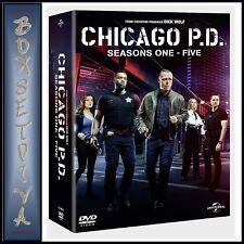 CHICAGO PD COMPLETE SEASONS 1 2 3 4 & 5  ** BRAND NEW DVD BOXSET***