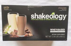 Chocolate & Vanilla Combo Box Shakeology 24 Packets