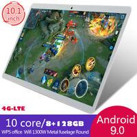 10.1'' 8GB+128GB Tablet PC WIFI/4G-LTE FHD curvo 2.5d Android 9.0 Dual SIM