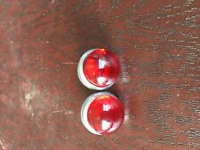 BICYCLE REFLECTOR JEWEL RED SCHWINN REAR RACKS SCHWINN HARLEY DAVIDSON  OTHERS