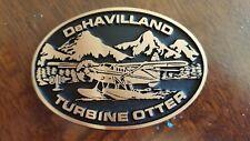 Dehavilland Turbine Otter & Beaver Brass Belt Buckles