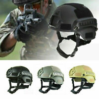 Outdoor Fast Tactical Helmet Army Military Tactical Combat Riding Hunting Tool
