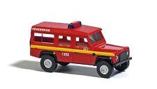Busch ESCALA N 8376 Land Rover Cuerpo de bomberos # NUEVO EN EMB. orig. #