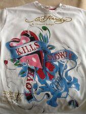 ladies/children ed hardy t-shirt XXL