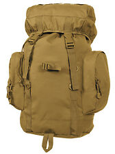 tactical backpack rucksack 45L hiking camping pack coyote brown rothco 2848