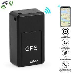 GPS Tracker Sender Magnet Echtzeit Tracking Peilsender SMS SOS Alarm KFZ (TOP)