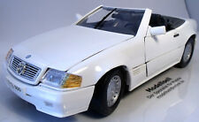 MERCEDES-BENZ 500sl CABRIOLET 1989 de MAISTO à l'échelle 1:18 voiture miniature