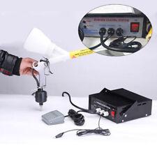 110v Portable Pc03 5 Powder Coating System Paint Spray Gun Machine 3300w Black