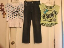 Justice Size 8 Lot of 14 School Clothes Tops 6 Bottoms 4 Jacket 2 Dress 2