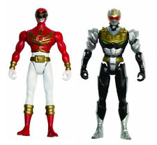 Power Rangers Megaforce - 2 small Figures Red & Robo Knight -No Retail Packaging
