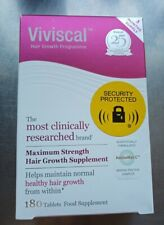 Viviscal Maximum Strength Hair Growth Supplement 180 Tablets 3 months supply
