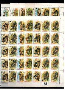 // 10X SOMALIA - MNH - WWF - NATURE - WILD ANIMALS - 1992