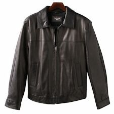 Dockers-Men's Premium Synthetic Leather Jacket, size: Small , Dark Brown