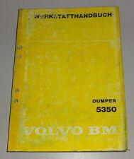 Manual de Taller Volvo Bm Dumper 5350 Stand 09/1980