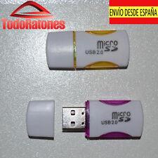 Pendrive lector tarjeta de memoria de moviles usb pendrive 2gb 4gb 8gb 16gb 32gb