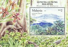 Mountains Of Malaysia 2006 Tourist Place Flower Forest Tree Orchid (ms) MNH