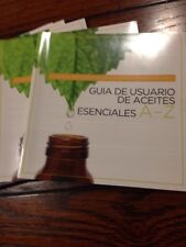 A to z reference guide + ESSENTIAL OIL Usage Guide book NEW Version!  In Spanish