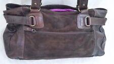 borsa donna in vera pelle scamosciata Frau misura cm 36 x cm 20