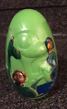 """New Disney The Good Dinosaur Filled Large 6"""" Easter Egg  Arlo Toy Candy STICKERS"""