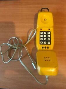 British Telecom (BT) Yellow Engineers Test Phone - Working