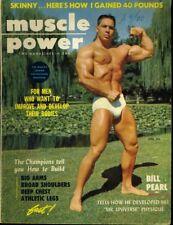 BIL PEARL  MUSCLE POWER APRIL 1956