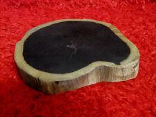 663g Natural Wild Pterocarpus Purple sandalwood Ebony wood From India 紫光檀 #0036