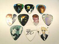 David Bowie - 8 MEDIATORS PICKS - 0,73mm - pour guitare