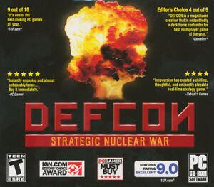 DEFCON STRATEGIC NUCLEAR WAR - Strategy Global War PC Game - BRAND NEW!