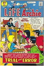 Life With Archie Comic Book #138, Archie 1973 FINE-/FINE