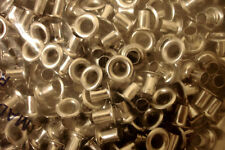 "1/4"" Leathercraft Nickel Eyelets Tandy - Quantity 100"