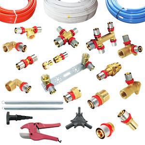 Pressfitting Metallverbundrohr  DVGW 16 20 26 32 Aluverbundrohr TH - H -U Kontur